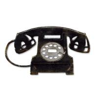 Sizzix Bigz Die - Vintage Telephone by Tim Holtz
