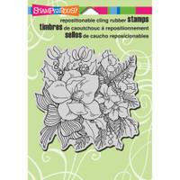 Stampendous - Cling Magnolia Rose