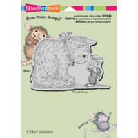 Stampendous: House Mouse Stamps - Cling Gift For Kitty