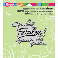 Stampendous - Cling Look Fabulous