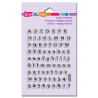 Stampendous - Clear Stamp Tiny Alphabet