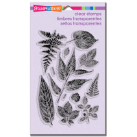 Stampendous - Clear Stamp Summer Leaves