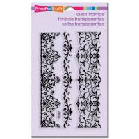 Stampendous - Clear Stamp Elegant Borders