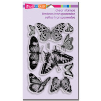 Stampendous - Clear Stamp Butterflies