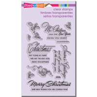 Stampendous - Clear Stamp Christmas Wishes