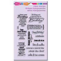 Stampendous - Clear Stamp Birthday Assorment