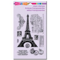 Stampendous - Clear Stamp Eiffel Tower