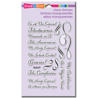 Stampendous - Clear Stamp Spanish Loving Messages