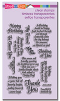 Stampendous - Clear Stamp Friendly Phrases