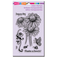 Stampendous - Clear Stamp Daisy Thanks