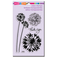 Stampendous - Clear Stamp Agapanthus Thank You