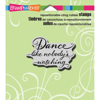 Stampendous - Cling Stamp Dance Like