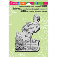 Stampendous - Cling Stamp Flamingo