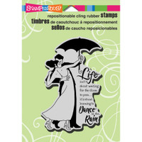 Stampendous - Cling Stamp Rain Dance