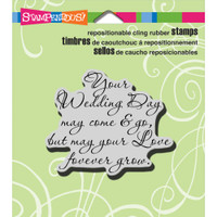 Stampendous - Cling Stamp Your Wedding