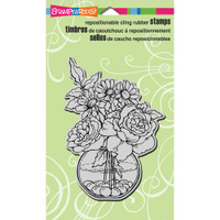 Stampendous - Cling Stamp Bowl Bouquet