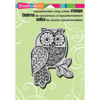 Stampendous - Cling Stamp PenPattern Owl