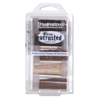 Stampendous Frantage Encrusted Jewel Kit - Bronze