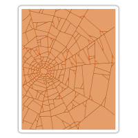 Sizzix Texture Fades Embossing Folder - Cobwebs  by Tim Holtz
