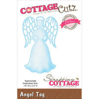 CottageCutz Die - Angel Tag