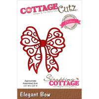 CottageCutz Die - Elegant Bow