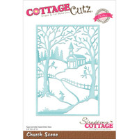 CottageCutz Die - Church Scene