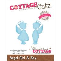 CottageCutz Die - Angel Girl & Boy