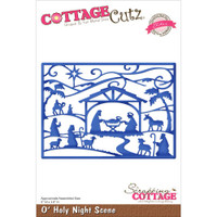 CottageCutz Die - O'Holy Night Scene