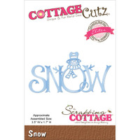 CottageCutz Die - Snow
