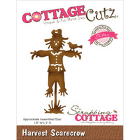 CottageCutz Die - Harvest Scarecrow