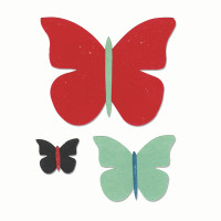 Sizzix Bigz Die - Butterfly Trio by Echo Park Paper Co.