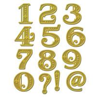 Spellbinders Shapeabilities Dies - Victorian Numbers