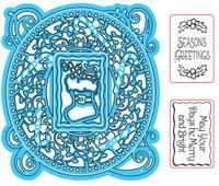 Simply Refined Dies & Stamps - I Believe, Seasons Greetings