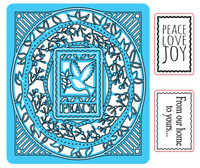 Simply Refined Dies & Stamps - I Believe, Peace on Earth