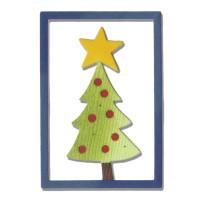 Sizzix Thinlits Dies - Christmas Tree #2 by Debi Potter