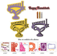 Simply Defined Joyous Tradition Collection - Happy Hanukkah