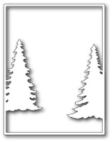 Memory Box Dies -  Cascade Evergreen Frame