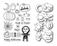 Memory Box Open Studio Stamps & Dies - Halloween Sideshow Die Set