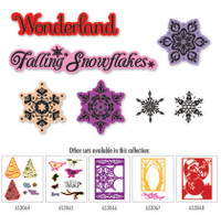 Simply Defined Winter Wonderland Collection - Falling Snowflakes