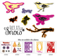 Simply Defined Winter Wonderland Collection - Winter Bird