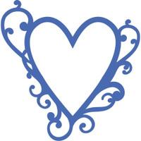 KaiserCraft Decorative Dies - Flourish Heart