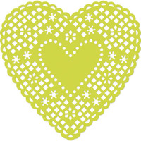 KaiserCraft Decorative Dies - Heart Doily