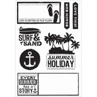 KaiserCraft Clear Stamps - Sandy Toes