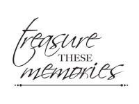 KaiserCraft Mini Clear Stamps - Treasured Memories