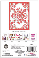 Simply Defined Growing Up Girl Collection - Damask Background