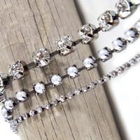 Spellbinders A Gilded Life - Antiqued Rhinestones Chain II