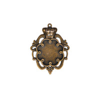 Spellbinders A Gilded Life - Crown Bezel - Large - Silver