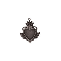 Spellbinders A Gilded Life - Heart Bezel - Small - Silver