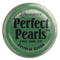 Perfect Pearls Powders by Ranger Ink - Festive Green