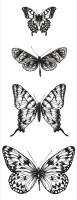 KaiserCraft Clear Texture - Butterflies